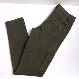 Sanctuary | Hunter Green Cargo Skinny Jeans